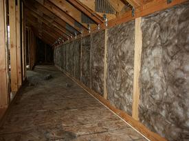 Dallas batt insulation contractor perkins inc for Fiberglass batt insulation r value